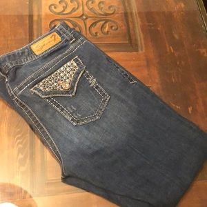 Seven7 luxe boot cut jeans. Size 14